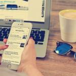iPhone版Safariの使い方。履歴削除やブックマークについて
